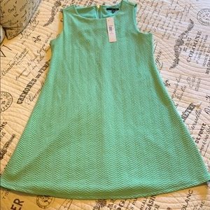Mint Textured Shift Dress
